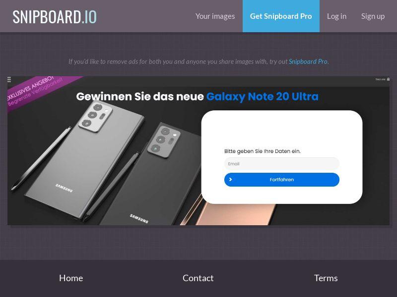 37852 - LU - ConsumersConnect - Win galaxy note 20 ultra - SOI