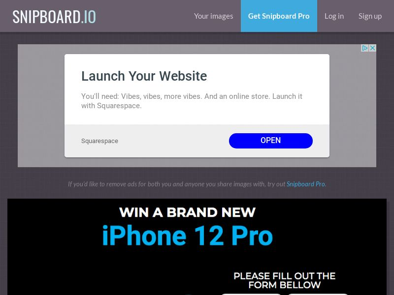 BigEntry - iPhone 12 Pro v2 UK - CC Submit