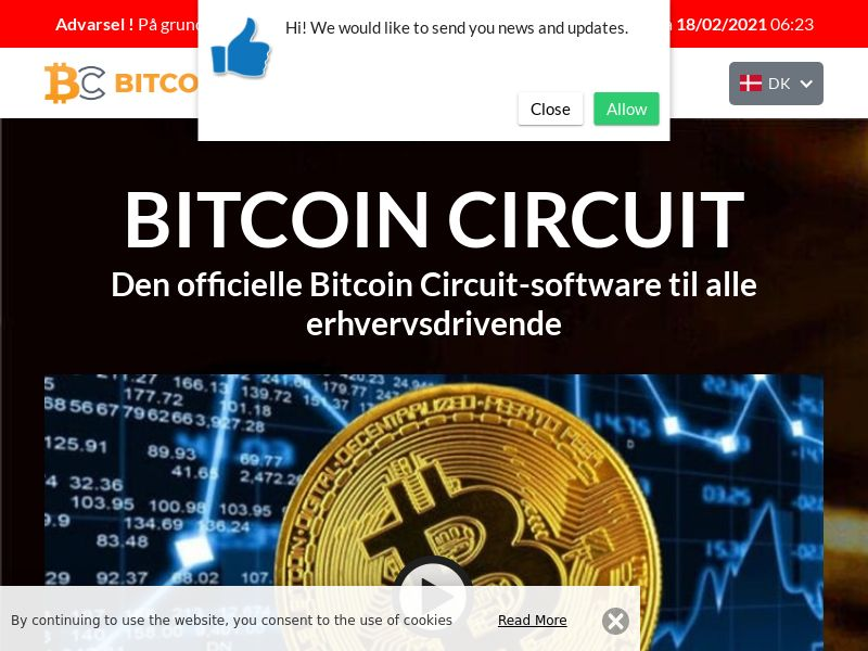Bitcoin Circuit Pro Now Danish 1015