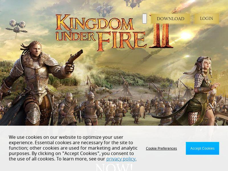 Kingdom Under Fire 2 - CPO - United States