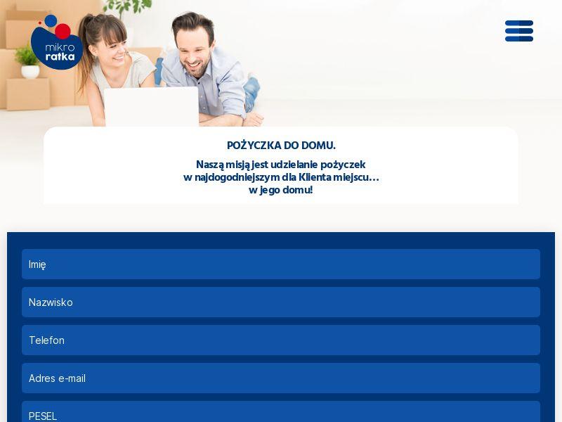 Mikroratka - Pożyczka pozabankowa (PL), [CPA], Business, Loans, Short term loans, Loan Approval, loan, money, credit