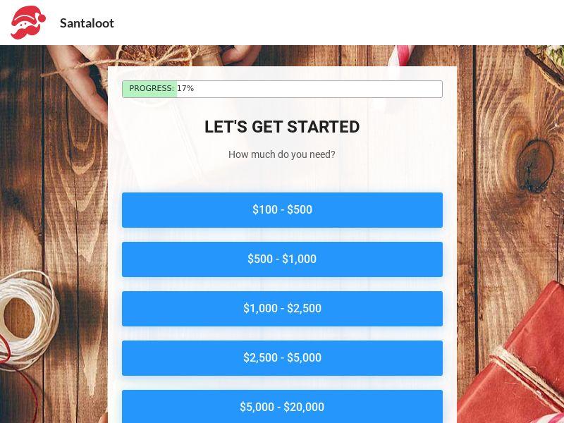 SantaLoot - Loans