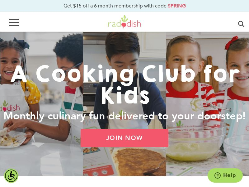 Raddish Kids - Cooking subscription for kids - CPA - [US]