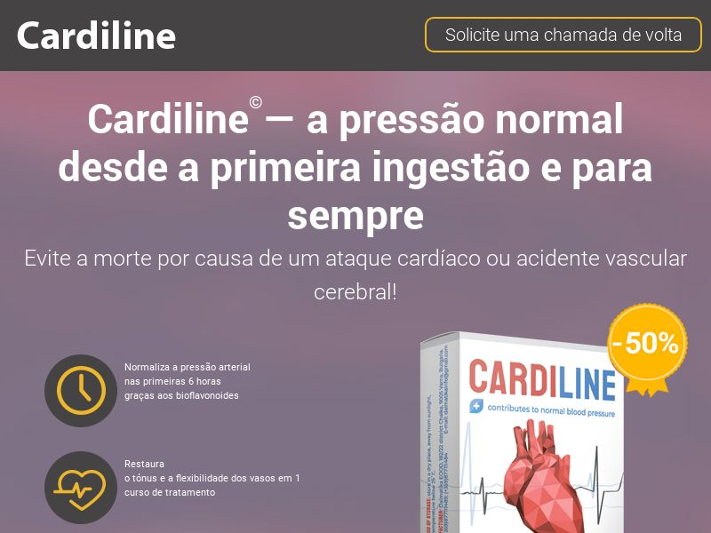 Cardiline PT - pressure stabilizing product