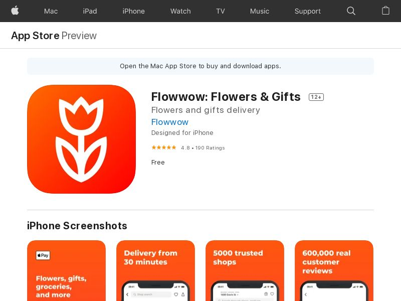 Flowwow: flower delivery