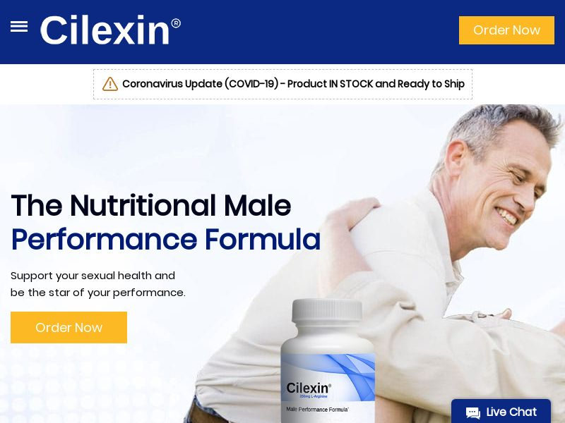 Cilexin | Natural Sexual Male Arousal & Stamina Supplement