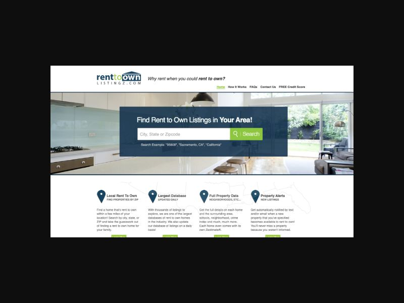 Rent To Own Listingz $1 Trial (US)
