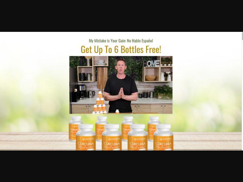 Science Natural Supplements Curcuma con BioPerine - VSL - Health - SS - NO SEO - [All GEOs]