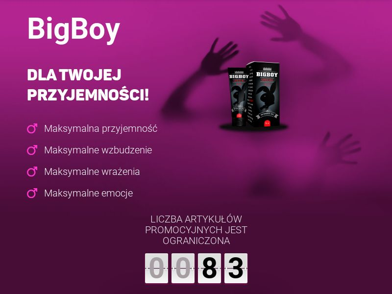 Bigboy PL - penis enlargement cream