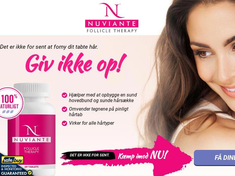 Nuviante: Follicle Therapy Step2 - DANISH - (Hair)