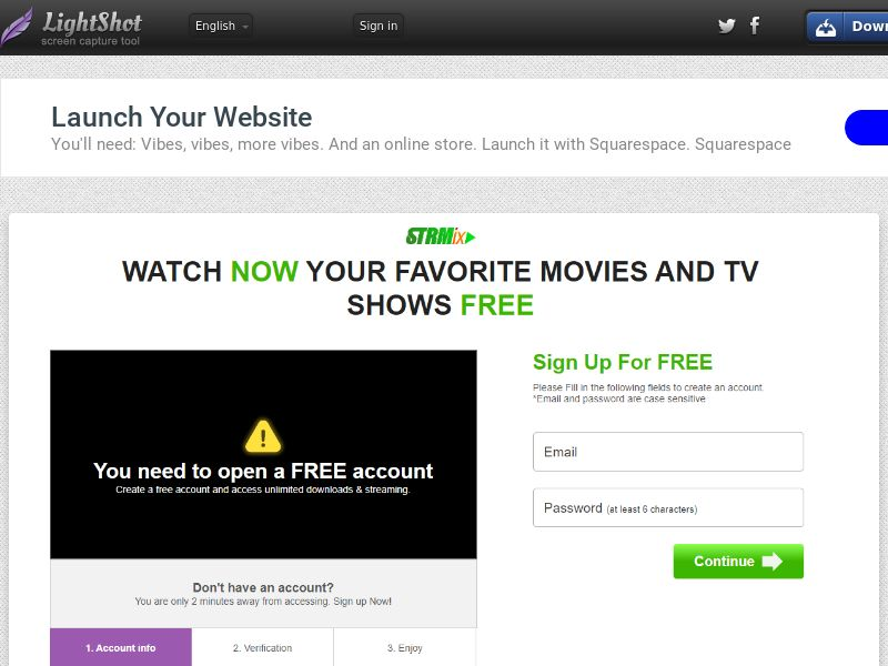 PopcornLinks Classic Form New (Streaming) (CC Trial) - Singapore