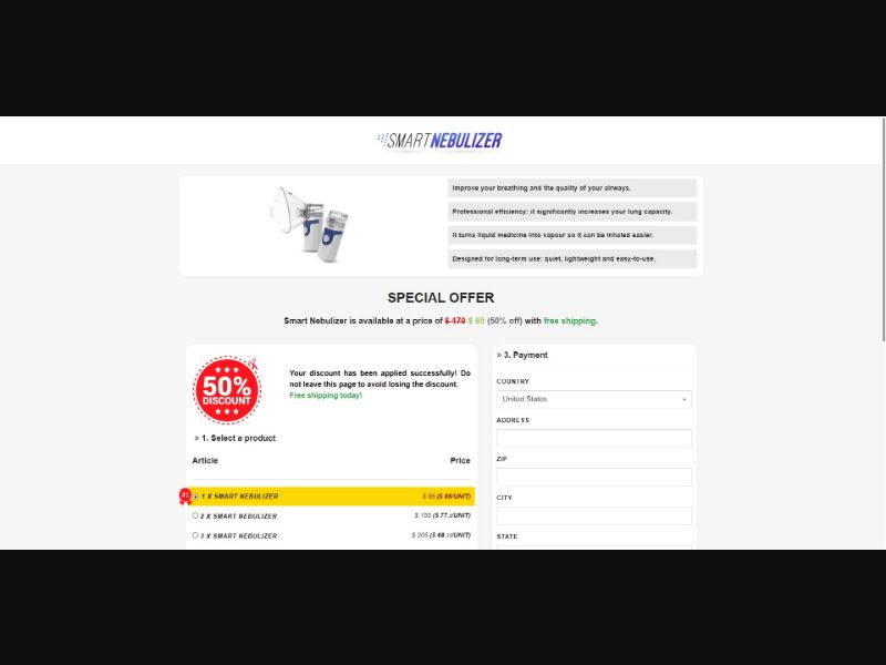 Smart Nebulizer - Health - SS - [143 GEOs]