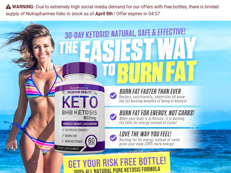 Keto NutriSlim Trial w/ Upsell - US