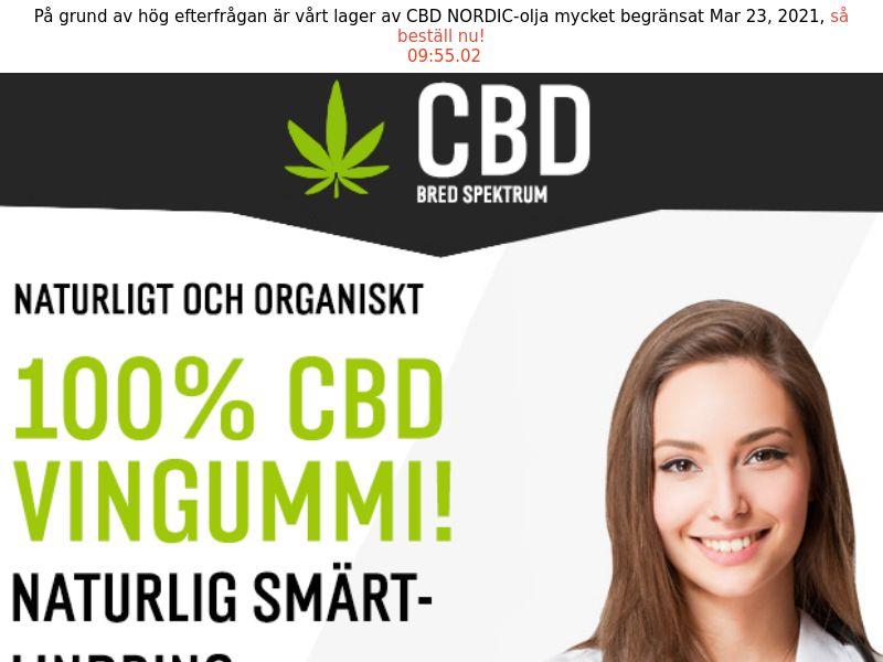 CBD Gummies [SE] (Email,Social,Banner,Native,Push,SEO,Search) - CPA