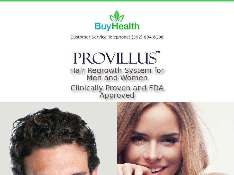 Provillus For Men International CPA