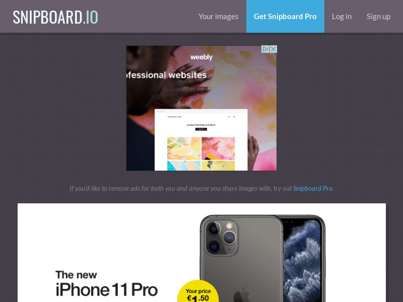 MagnificentPrize - iPhone 11 Pro IE - CC Submit