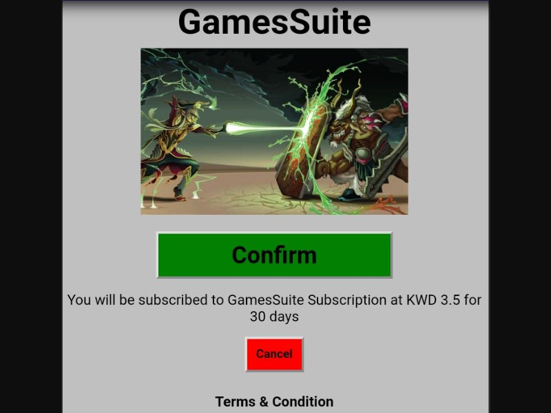 Gamesuite (KW)