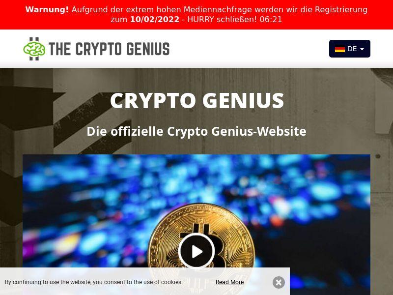 Crypto Genius German 906