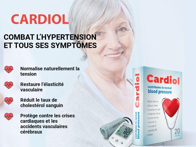 Cardiol FR - pressure stabilizing product