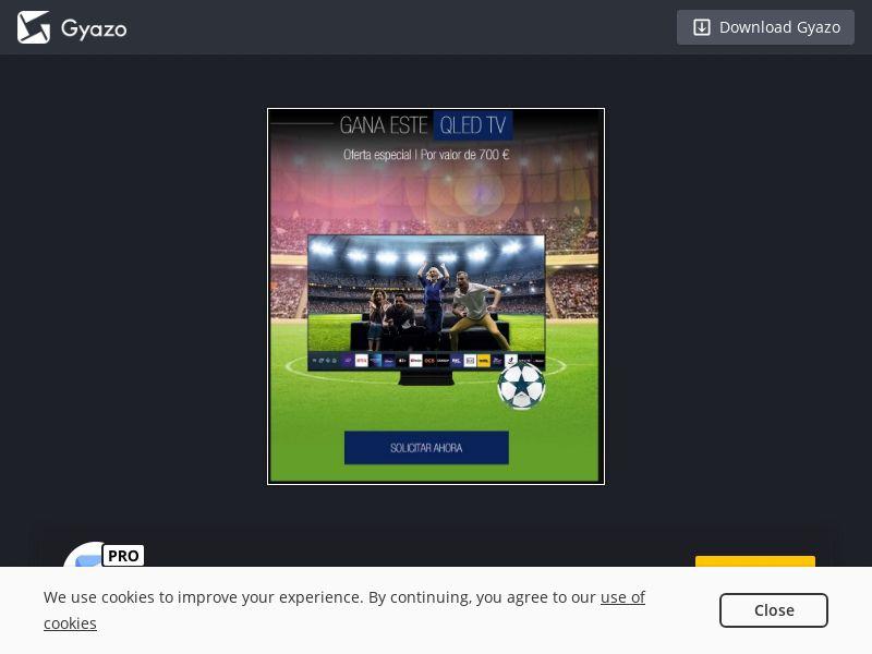 EURO 2020 - Win QLED TV (ES) (CPL)