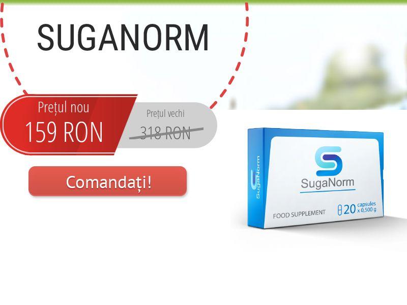 SugaNorm RO - sugar control supplement