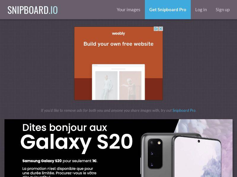 SteadyBusiness - Samsung Galaxy S20 LP43 FR - CC Submit