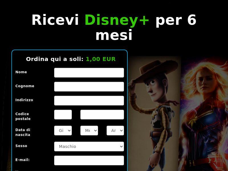 Disney+ (6 Month) - IT