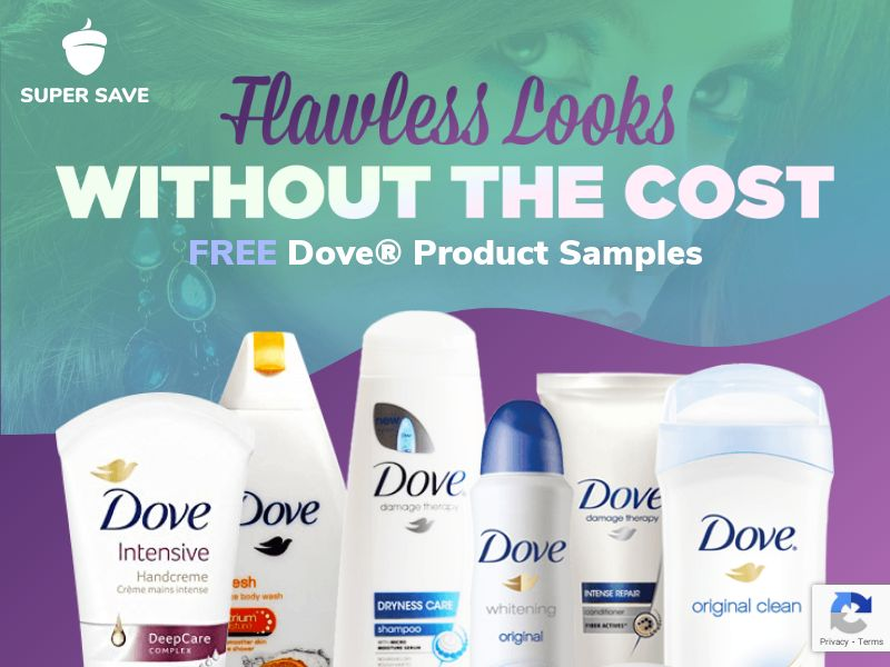 Free Dove Product Samples - Incent
