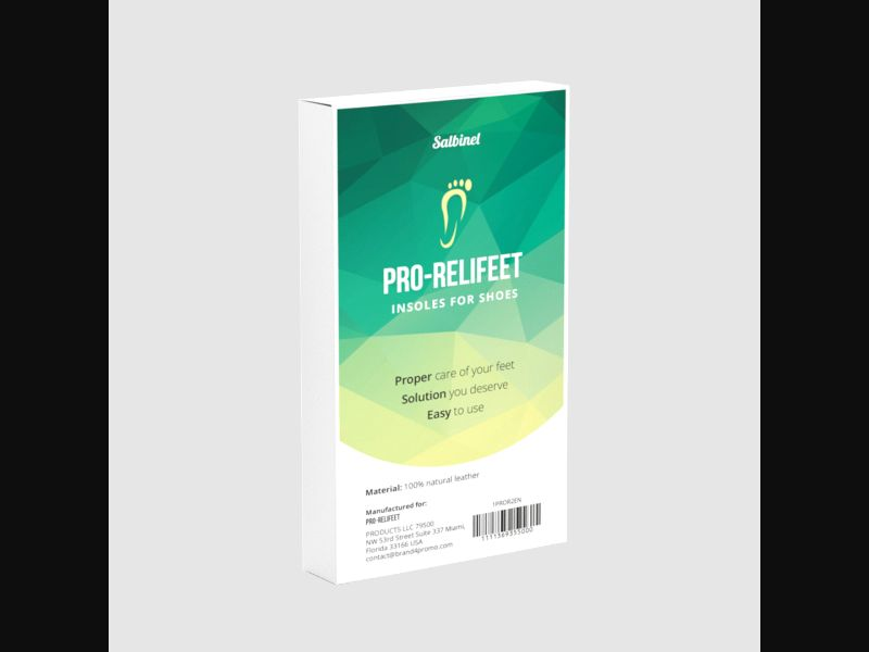 PRO-RELIFEET – HU – CPA – feet – shoe insoles - COD / SS - new creative available