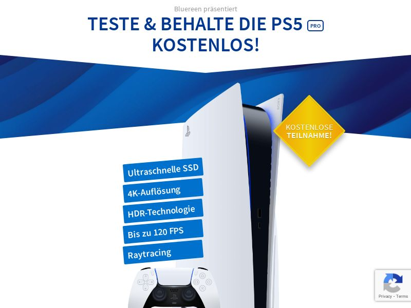 Try & Keep The Playstation 5 [DE]