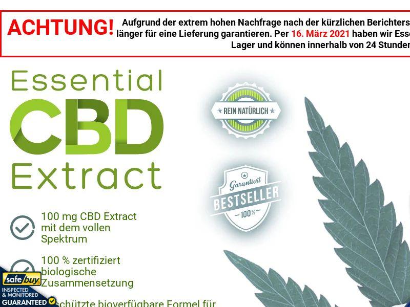 Essential CBD Extract (German) - DE/CH/AT