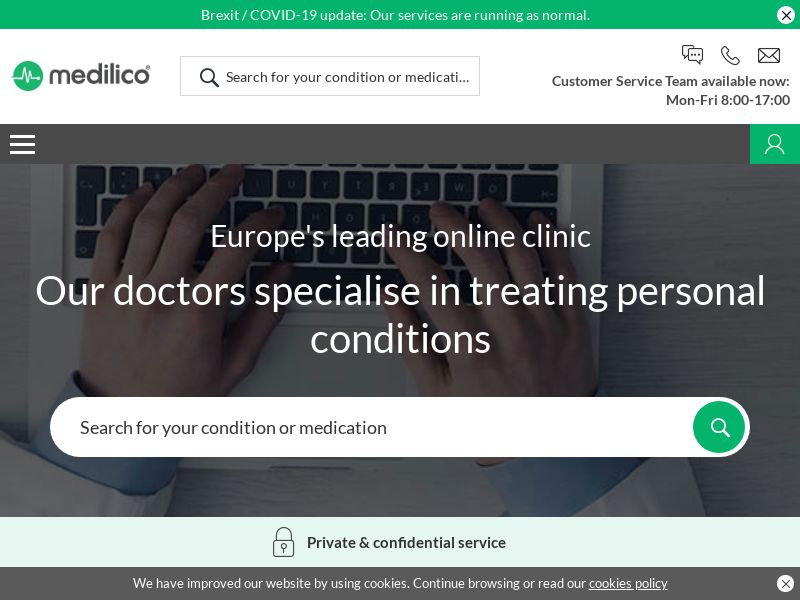 Medilico | Online Clinic & Prescriptions in English & French