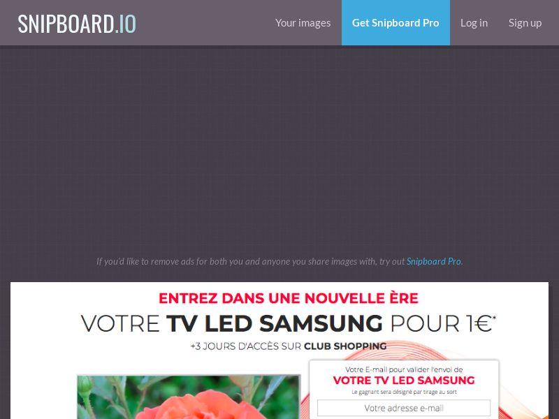 Samsung QLED TV - CC - FR, BE (BE,FR), [CPA]