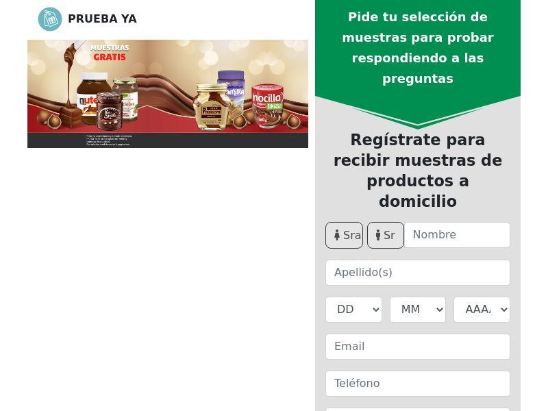 Prueba Ya - Pasta Para Untar - SOI - CPL - Spain [EXCLUSIVE]