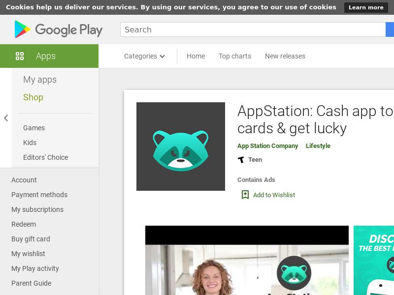 Appstation Android CPA - US- Incent