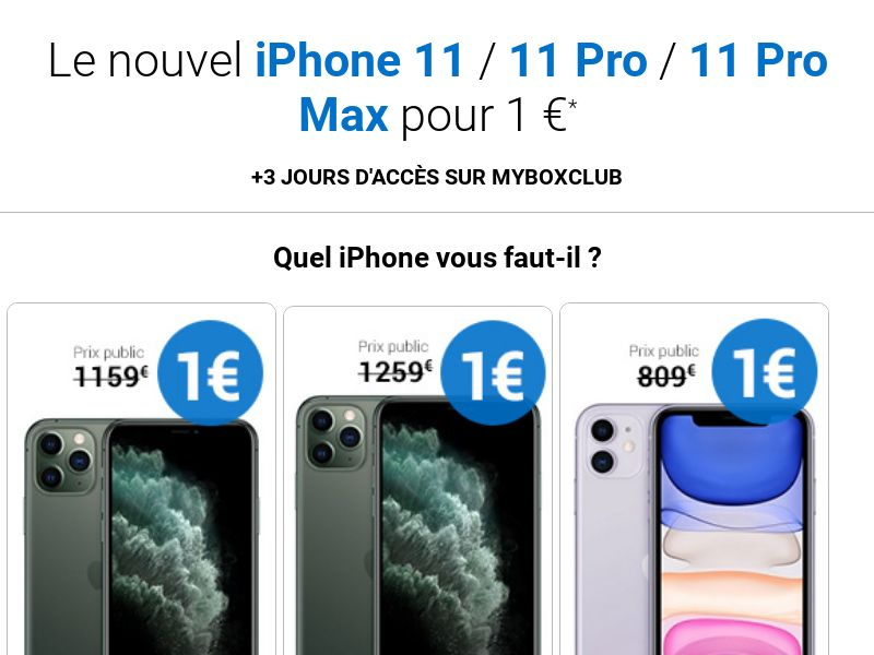 ClubBundleShopping - iPhone 11 / 11 Pro / 11 Pro Max (FR, BE) (Trial) (Personal Approval)