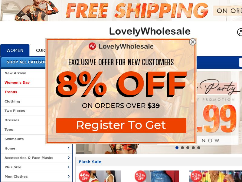 Lovely Wholesale - Online Store - Revshare 12% - CPA - [INTERNATIONAL]