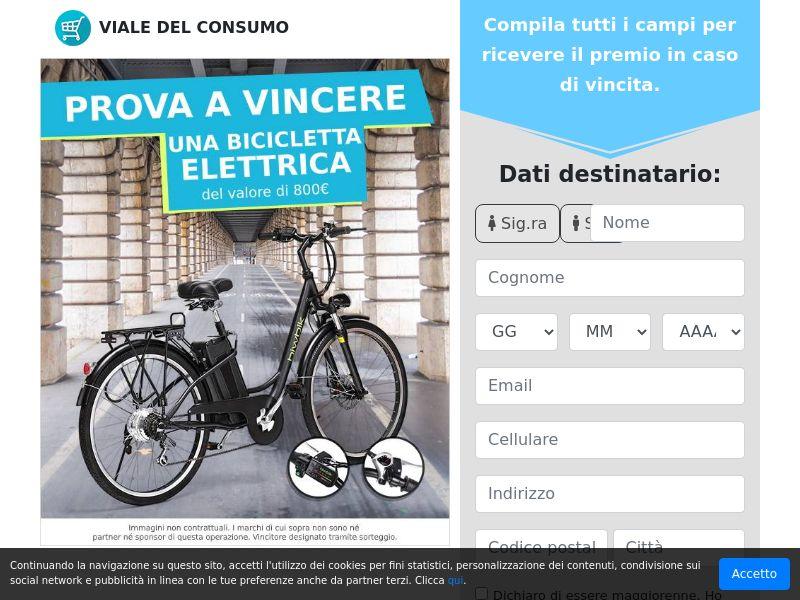Vinci una bicicletta!