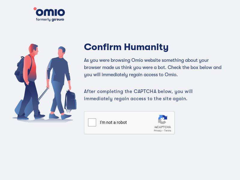 Omio.com CPS - Europe