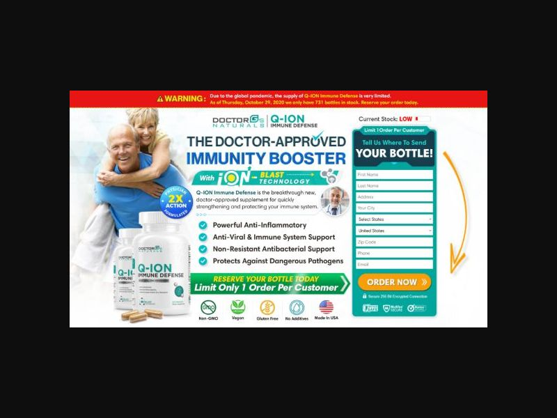 Doctor G's Q-ION Immune Defense