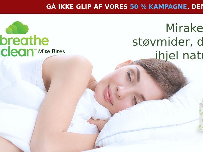 Breathe Clean Mite Bites LP01 (DANISH)