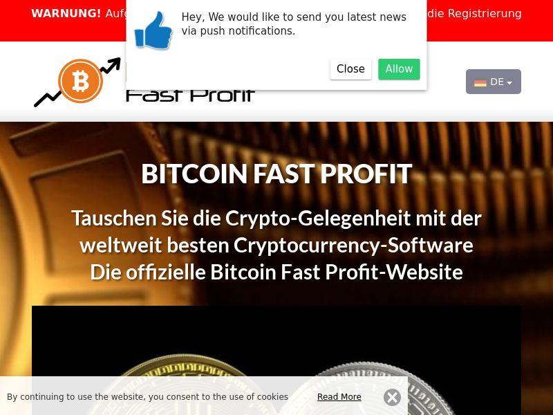 Bitcoin Fast Profits German 3922
