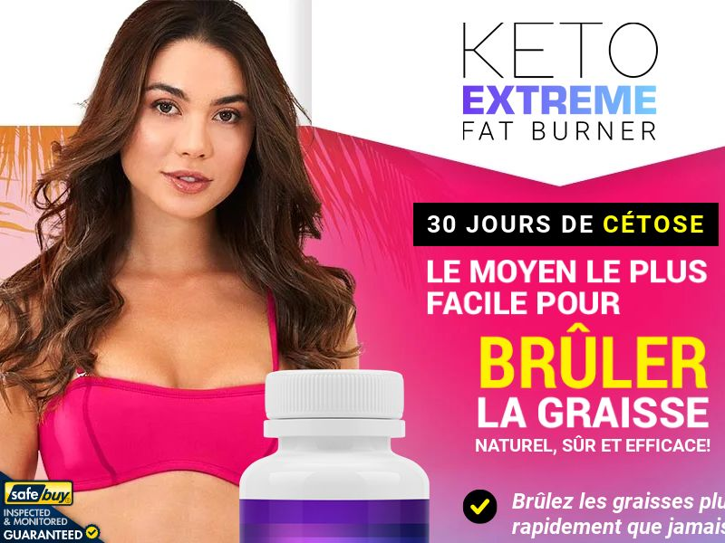Keto Extreme Fat Burner LP01 (French)