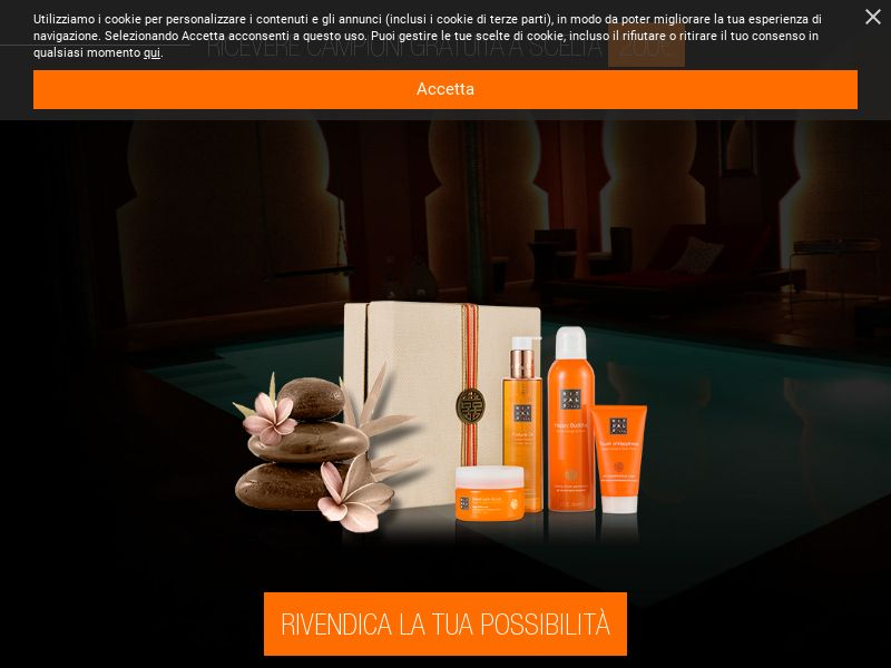 Rituals Free Samples [IT] (Email,Native,Social,Banner,Push) - CPL