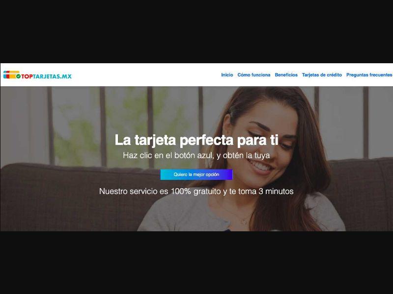 TopTarjetas - SOI [MX] - SOI registration