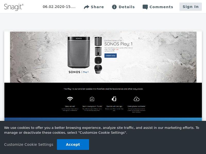 Sonos Play1 | NL