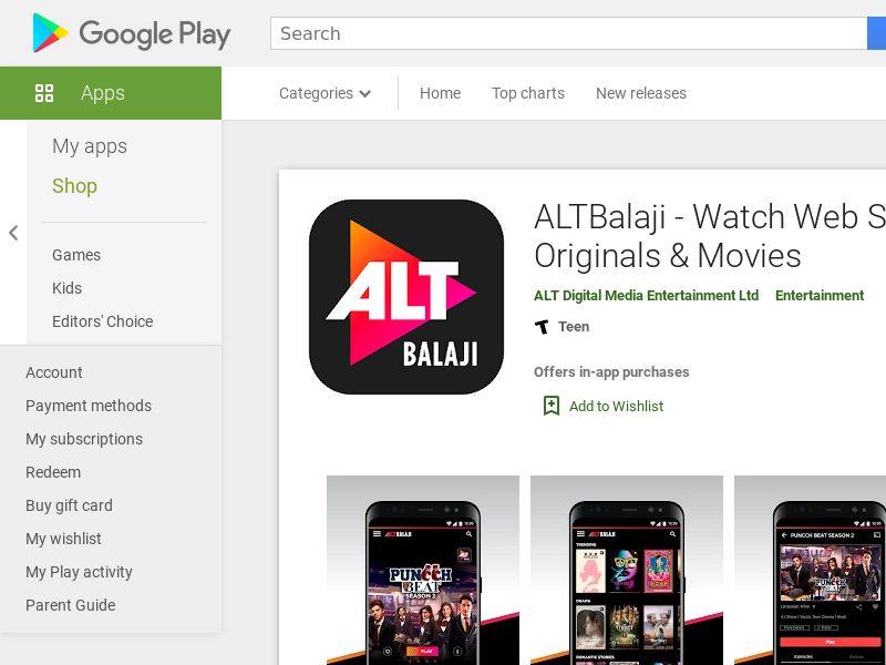 ALT Balaji CPS - India (Non - Incent)