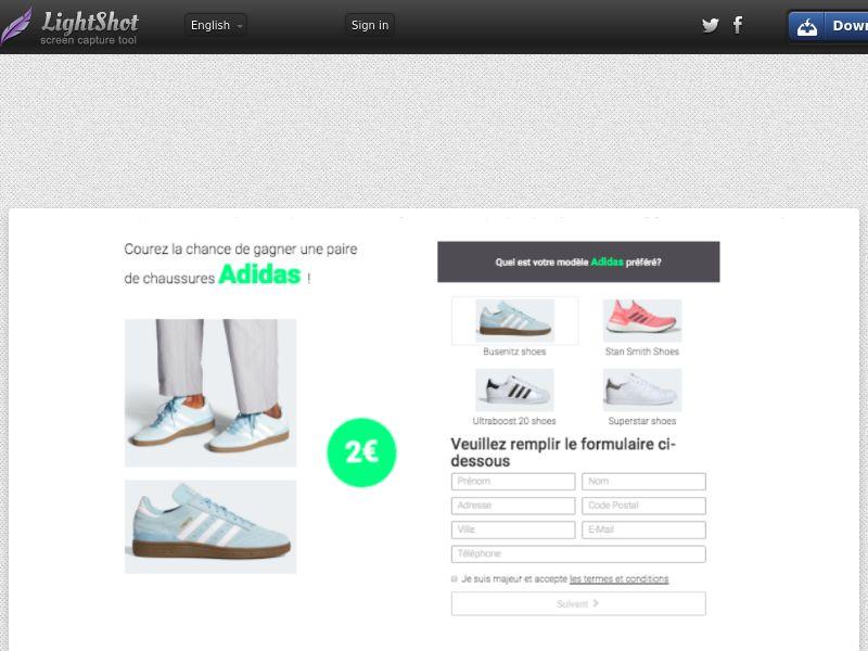 BigEntry - Adidas (FR) (Trial) (Personal Approval)