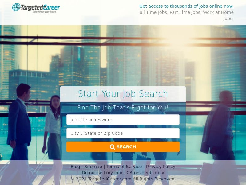 Targeted Career - Find the Right Job For You - US