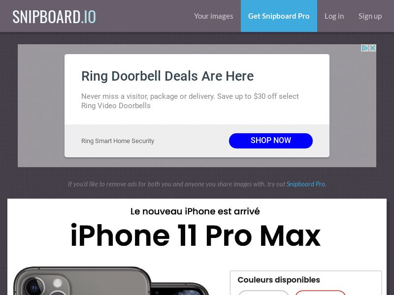 SteadyBusiness - iPhone 11 Pro Max LP25 FR - CC Submit